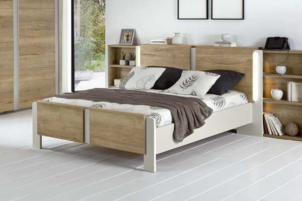 chambre et cadre de lit Hasena Woodline