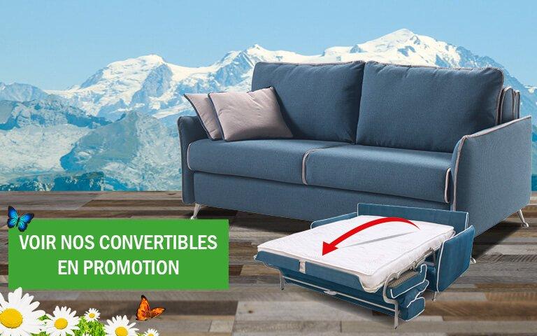 Nos Promotions Matelas Et Canapés Convertibles - Canapé convertible en promotion