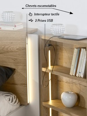 lit adulte design led usb