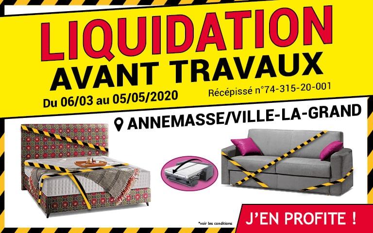 Liquidation Annemasse