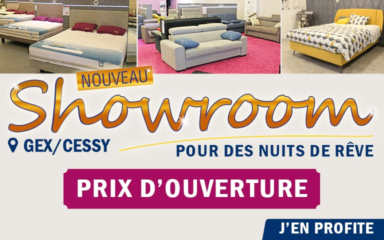 Nouveau magasin olyreve Gex Cessy